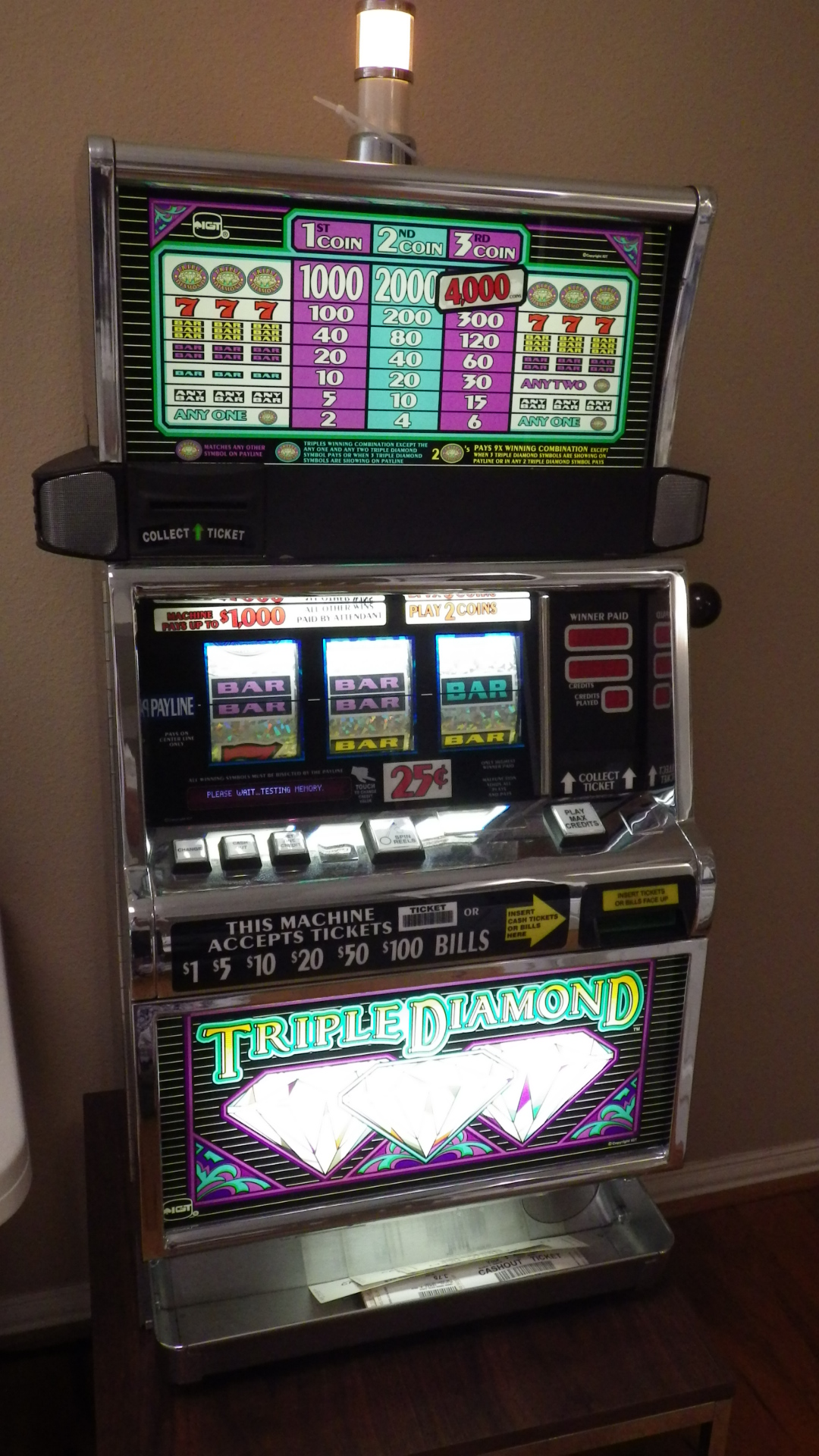 slot machine repairs in dfw